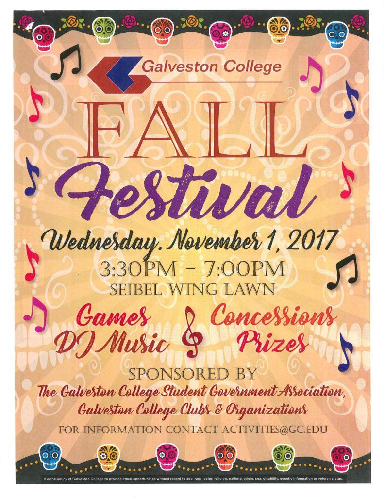2017 Fall Festival Flyer