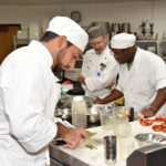 Culinary Arts students Stephen Limones and Shaylin Petteway