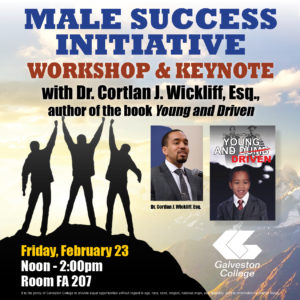 Dr. Cortlan Wickliff workshop and keynote