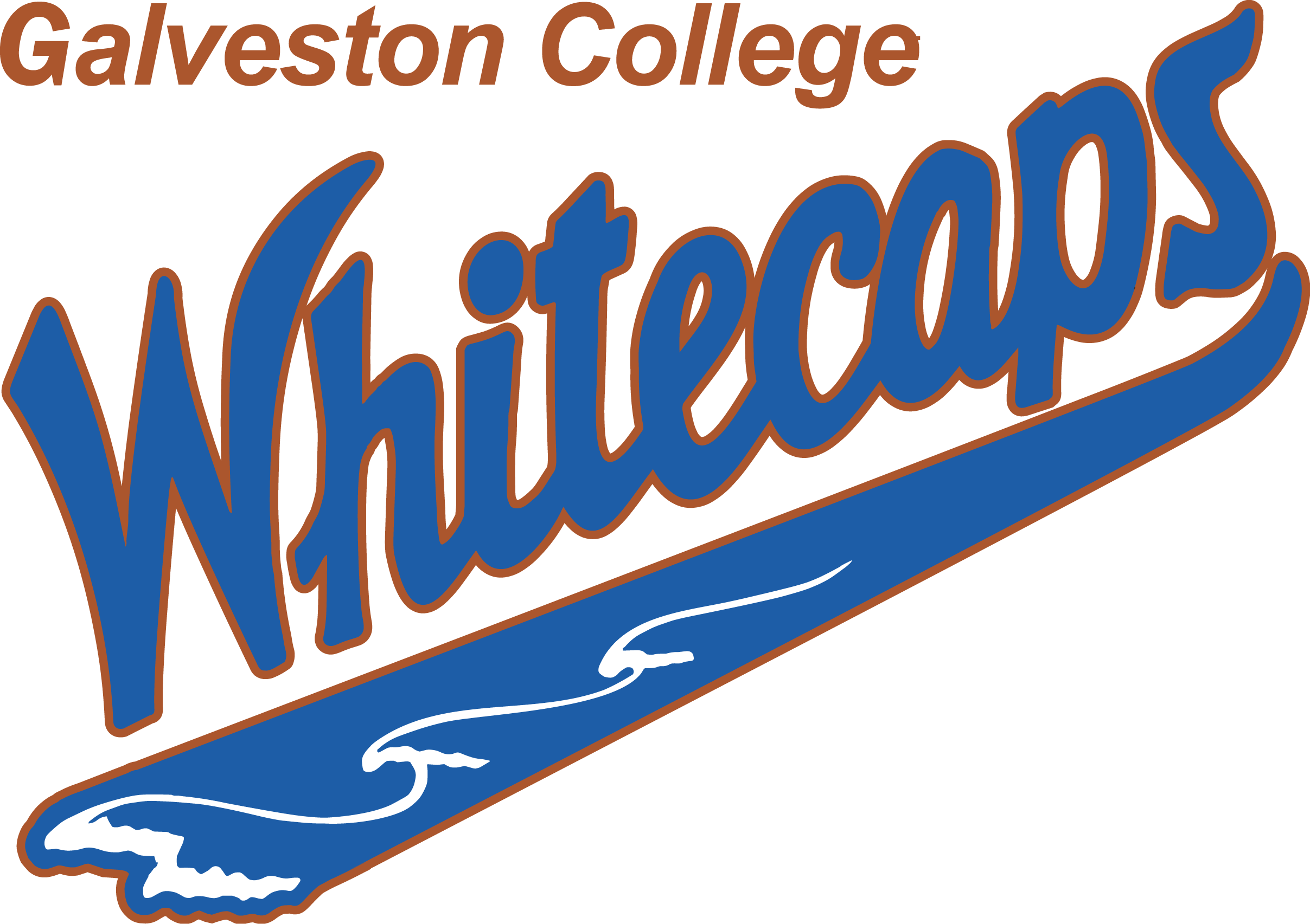 galveston college whitecaps baseball opens fall play on saturday at rh gc edu Oakland Whitecaps Baseball Hammerhead Baseball Logo