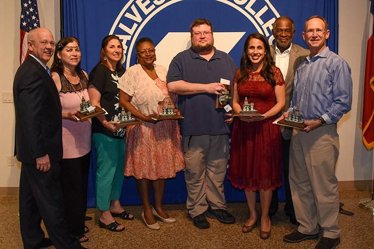 2018 Employee Awards at Galveston College