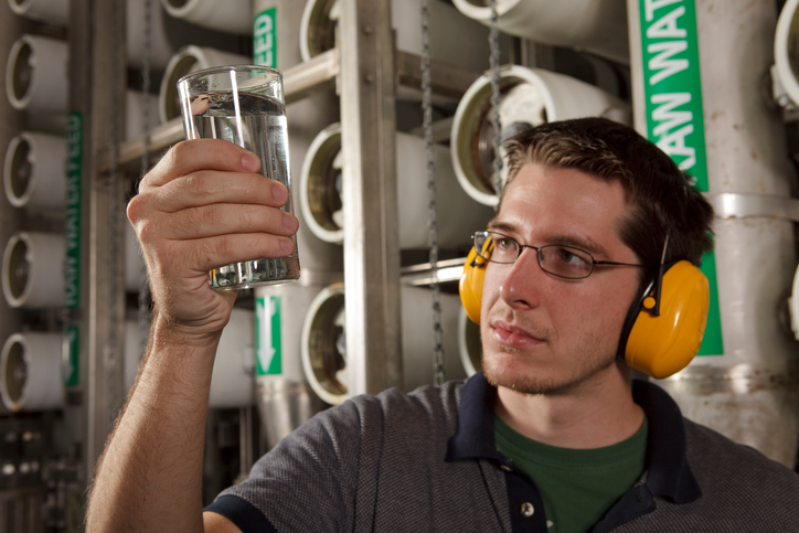 Water Plant Operator Course at Galveston College