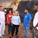 Galveston College HVAC program visited Mood Gardens