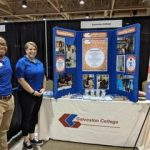 Oceans of opportunity Job Fair Galveston College booth