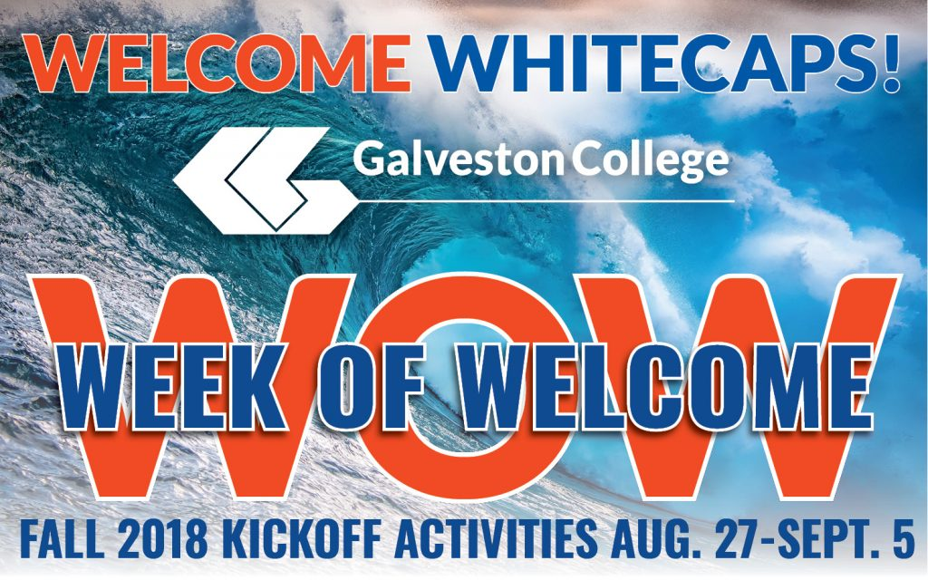 Week of Welcome 2018-19 at Galveston College