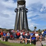 Hamshire-Fannett Dual-Credit Students Visit Galveston College