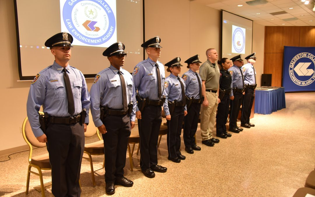 2nd full-time Law Enforcement Academy class graduates