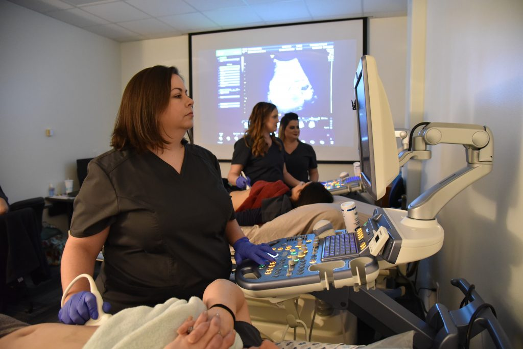Galveston College Diagnostic Medical Sonography Lab