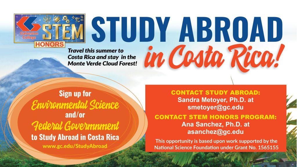 Study Abroad in Costa Rica