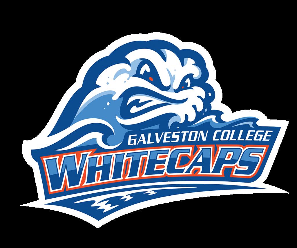 Galveston College Whitecaps Logo