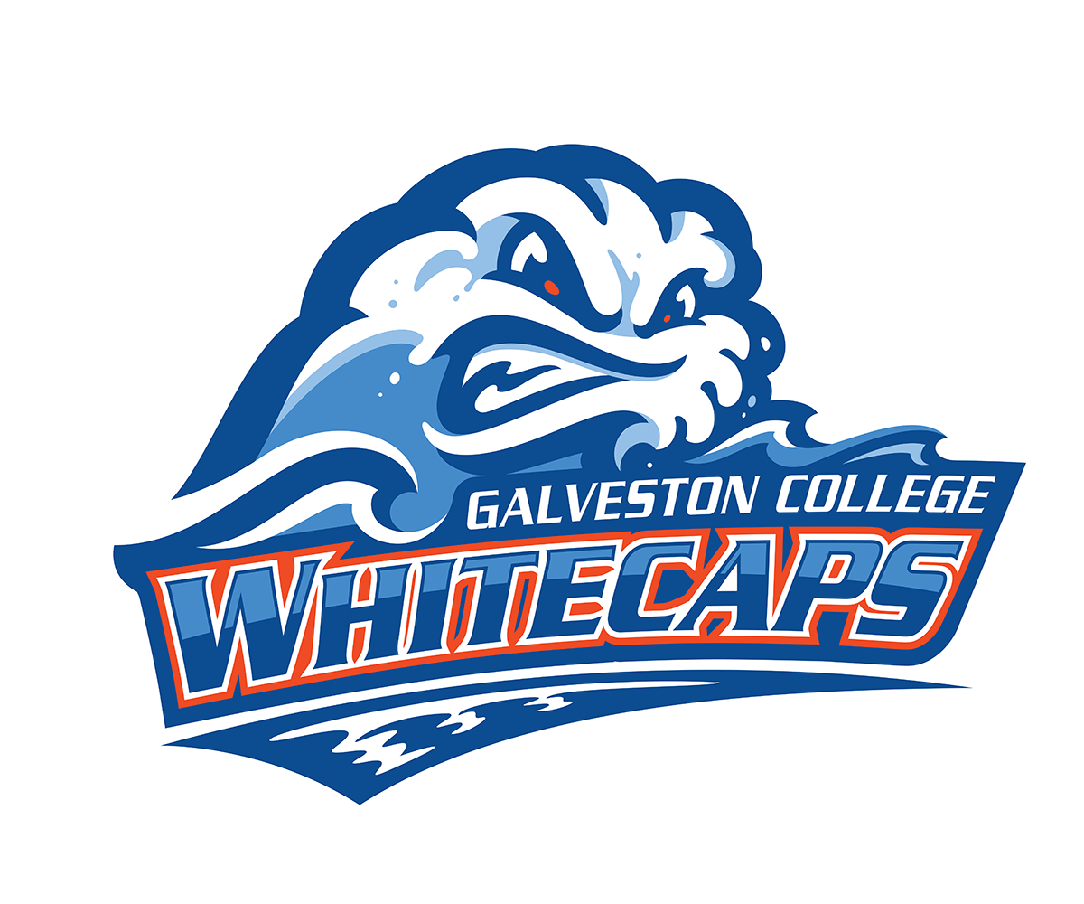Galveston College Whitecaps Logo