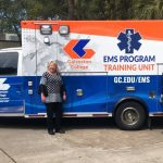 New Training Ambulance at Galveston College
