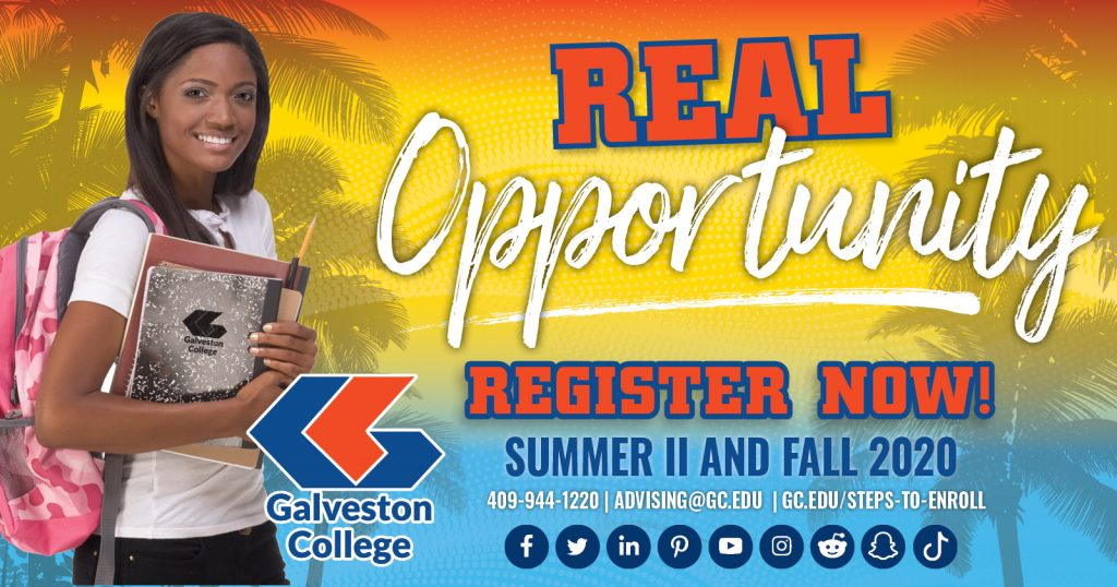 Register now for summer and fall 2020