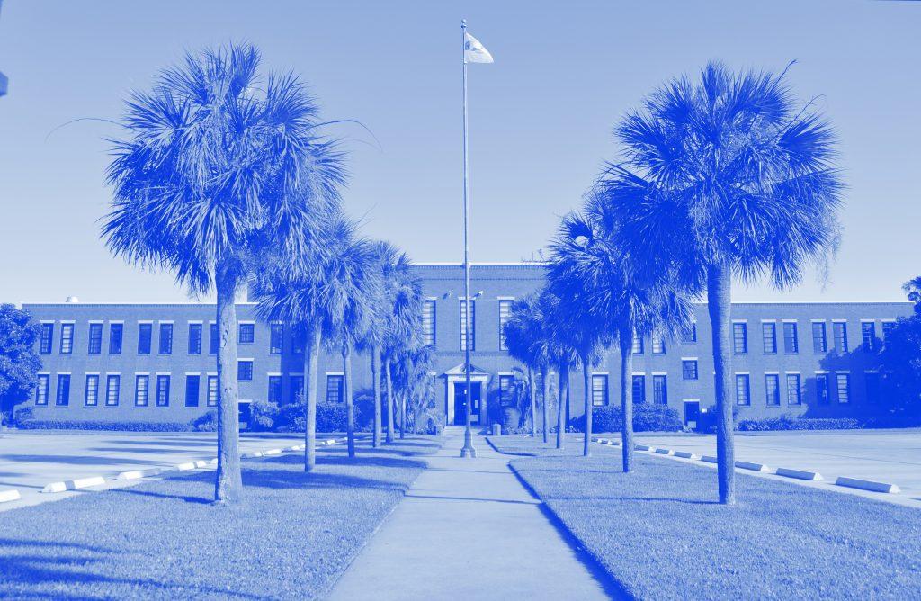 Moody Hall at Galveston College