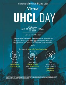 Virtual UHCL Days
