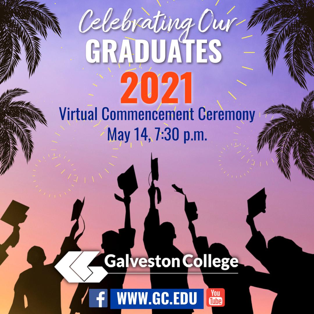 Celebrating graduates 2021 illustration of students