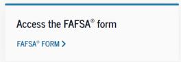 Access the FAFSA