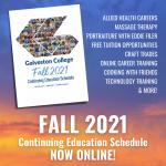 Fall CE Schedule