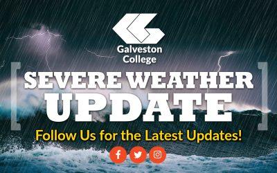 Galveston College to close at noon Monday through Tuesday